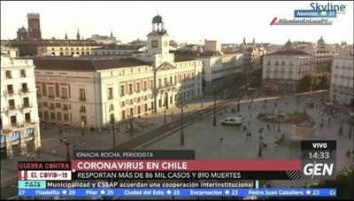 HOY / En Chile aumentan los casos de Covid-19, lamentan día record de fallecidos