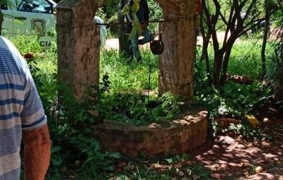 San Juan Bautista; encontró a su tío sin vida en un pozo artesiano