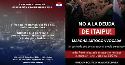 Mientras el mundo elogia el éxito paraguayo contra el COVID-19, otros organizan aglomeración