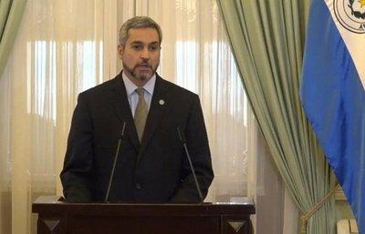 Senado convoca a Mario Abdo para informar sobre el Estado de Emergencia por el covid-19