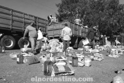 Gobernador Acevedo distribuirá más de mil cien kits en las comunidades indígenas del departamento de Amambay