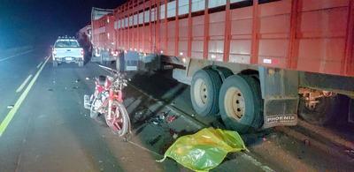 Concepción: Motociclista fallece en accidente de tránsito