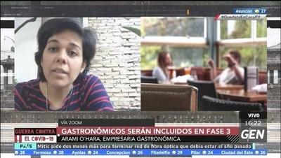 HOY / El sector gastronómico será incluido en la fase 3 de la cuarentena inteligente