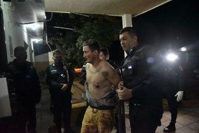 """Temido delincuente alias """"Huevo"""" se fugó de comisaría, momentos después de haber sido capturado"""