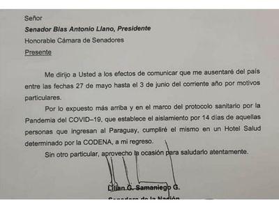 Lilian viajó a Uruguay y a su vuelta deberá hacer cuarentena