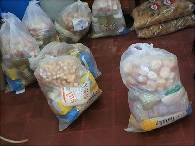 Denuncian distribución de alimentos en mal estado