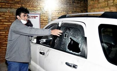 """Motochorros"" atacan a tiros y roban unos G. 150 millones"