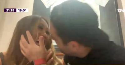 HOY / Yolanda y Chipi reconfirmaron su compromiso con un beso en vivo por Tv nacional