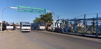 Adaptan protocolos y todos los camioneros serán sometidos al test del COVID-19
