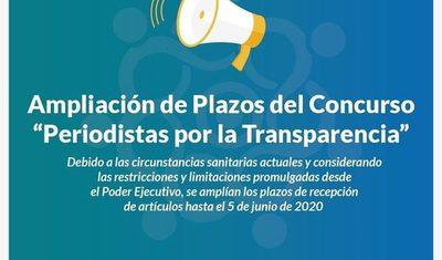 """Lanzan """"Periodistas por la Transparencia"""": un concurso para grandes investigaciones periodísticas contra la corrupción"""
