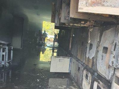 Incendio en subestática de la ANDE deja a 17.000 familias sin energía