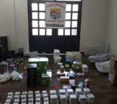 Río Paraná: Incautan insumos electrónicos por contrabando