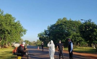 HOY / Dos ciudades de Paraguarí en 'alerta' por recorrido realizado por el militar con COVID-19