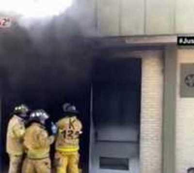Subestática se incendia en Santa Rosa del Aguaray