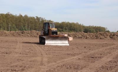 HOY / Evoluciona la construcción de la ambiciosa franja costera de Pilar