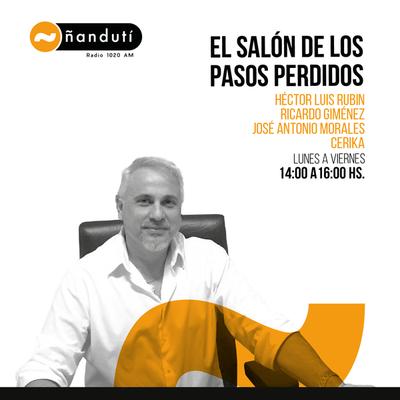 El Salón de los Pasos Perdidos con Luis Rubin, José Antonio y El Arqui