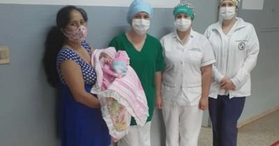 Mujer supera el COVID-19 y da a luz sin complicaciones en Encarnación