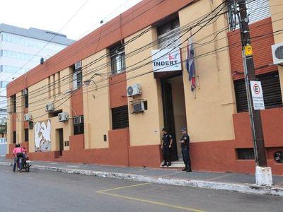Fiscalía incautó celulares y documentos del Indert