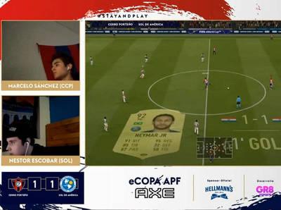 Sol de América y Cerro Porteño igualan en una ajustada definición del título
