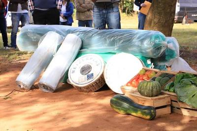 Agricultores de Yhú revivieron implementos agrícolas por parte del MAG – Prensa 5