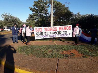 Hospital de Itauguá: pacientes oncológicos llegaron a acuerdo y piden a Abdo celeridad para reacondicionar bloque