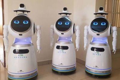 Centro médico en Ruanda utiliza robots para monitorear pacientes con coronavirus