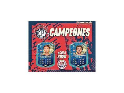 Cerro es campeón de la APF E-Sport