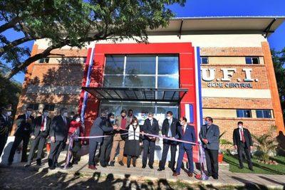 Destacan inauguración de nueva sede de la Unión de Fútbol del Interior en Ypacaraí