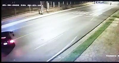 Muestran videos del inicio de la persecución y balacera en San Lorenzo