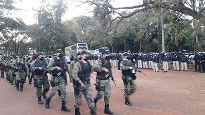 Policía refuerza operativos de control del cumplimiento de la cuarentena
