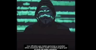 """Anonymous"" ataca a EE.UU. tras asesinato de George Floyd"
