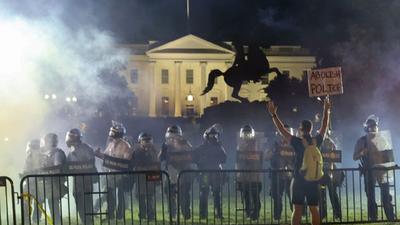 Con incidentes en Washington, EEUU vivió otra jornada de protestas marcada por los disturbios