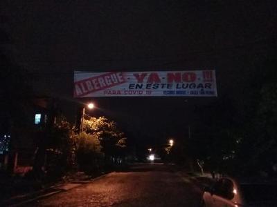 Vecinos del barrio Santa Lucia se oponen al funcionamiento de albergue – Prensa 5
