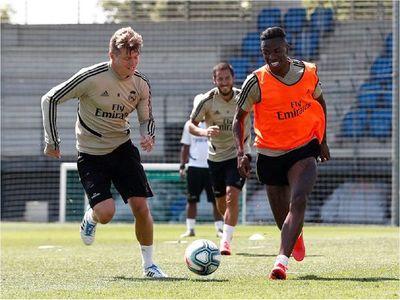 El Real Madrid vuelve a entrenar en equipo 81 días después
