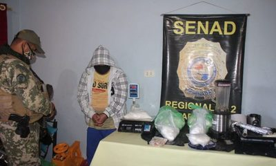 "Cae detenido traficante de drogas  ""nómada"" con 7 kilos de cocaína – Diario TNPRESS"