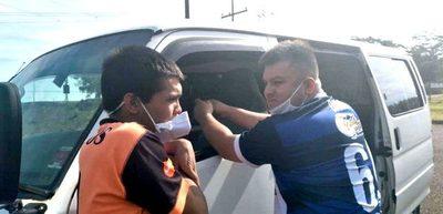 """Hijastro  del concejal """"Kelembú"""" aprehendido con  seis extranjeros que ingresaron al país por el Paraná – Diario TNPRESS"""