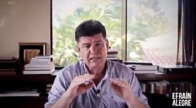 Efraín Alegre, imputado tras clonación de factura