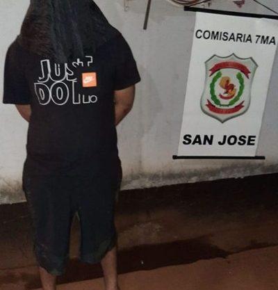 Joven es detenido por  agredir a su madre – Diario TNPRESS