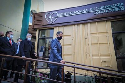 Hospital San Jorge inaugura remozado bloque de consultorios