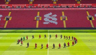Liverpool se une a la lucha contra el racismo