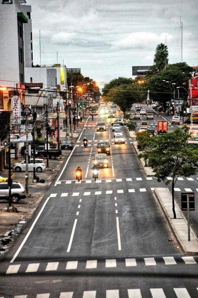 Nenecho mejora las calles de Asunción y ya se habla de su candidatura a presidente en 2023