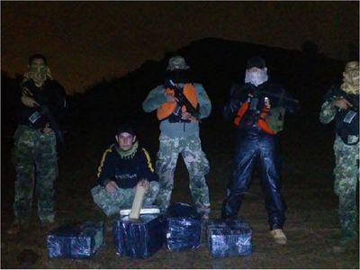 Armada incauta carga de marihuana en río Paraná