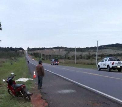 Transeúnte fallece al ser atropellado por una camioneta en Cordillera