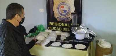 Imputan a supuesto narcotraficante detenido con más de ocho kilos de cocaína