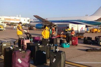 Desde Estados Unidos: Más de 230 compatriotas arribaron al país esta tarde