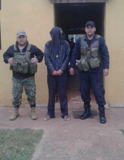 Cae hombre imputado por raptar y balear a una menor de edad en Concepción