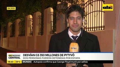 Desvían G. 350 millones de Pytyvõ