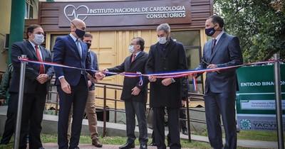 Inauguran mejoras del Instituto de Cardiología