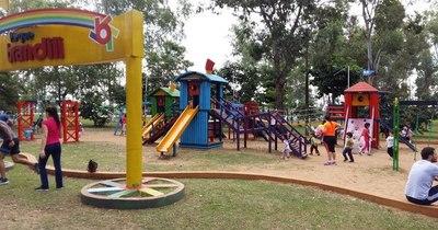 Cada vez más gente acude al Parque Ñu Guasú