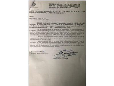 Imputan al presidente del PLRA en el caso de facturas clonadas